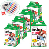 Fujifilm Instax Mini Instant Film White For Instax Mini 9 8 8+ 7c 7s 70 90 25 50s Camera Smartphone Printer SP-2 1 Polariod 300