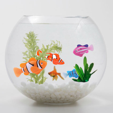 Funny Swim Electronic Robofish Activated Battery Powered Robo Toy fish Robotic Pet for Fishing Tank Decorating Fis