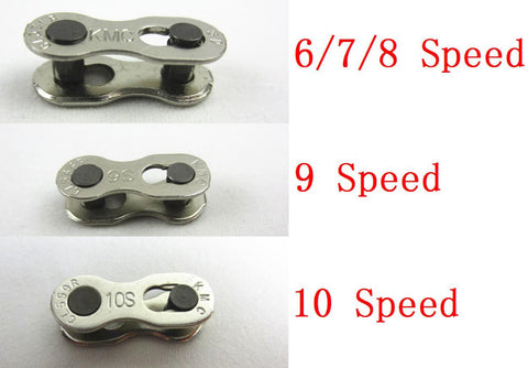 1 Pair 2pcs Bike Chains mountain road bike bicycle chain Connector for 6/7/8/9/10 Speed Quick Master Link Joint Chain BC0101