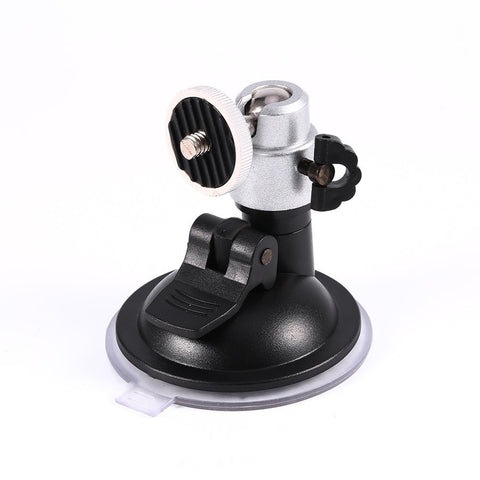 "Windshield Suction Cup 1/4""Ball Head Mount Holder for Vehicle Car Camera DVR GPS for Gopro Hero 4/3+/3 Camera Accessories"