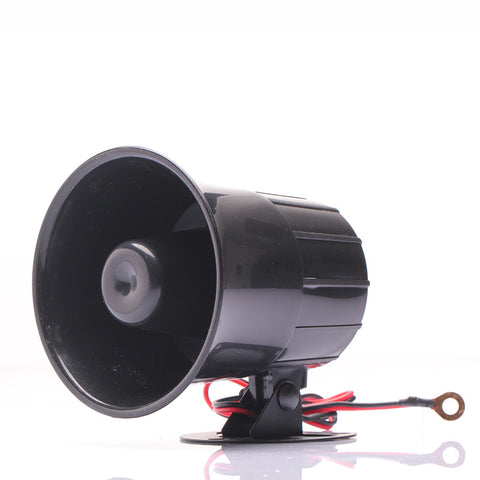 DC 12V Wired Loud Alarm Siren Horn Outdoor with Bracket for Home Security Protection System alarm systems security home