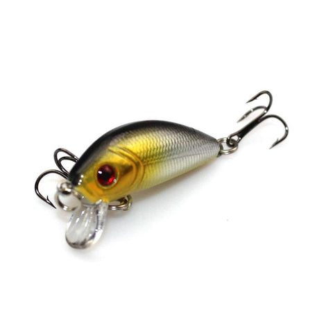 5cm 3.5g  Striped Bass Floating Minnow Lure Artificial Fish Lures Hard Bait Swim Fishing Tackle Samll Crankbait M016