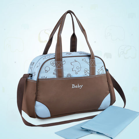 Stylish tote diaper bag baby nappy changing stroller bags maternity mother handbag shoulder mommy bag