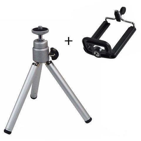 mini tripods for camera 140-170mm aluminum alloy lightweight flexible portable tripods for gopro xiaoyi iphone samsung huawei
