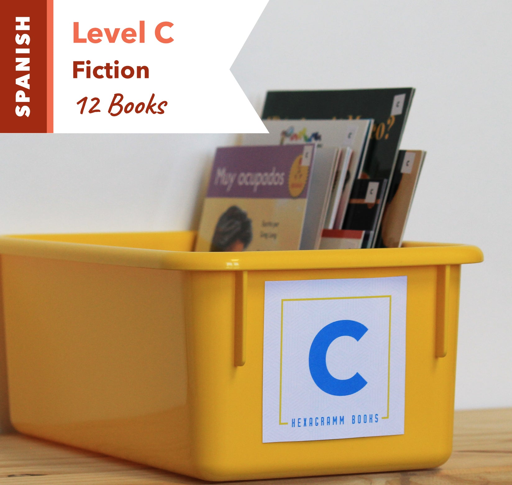 Level C, Bundle of 12 (Fiction) Spanish