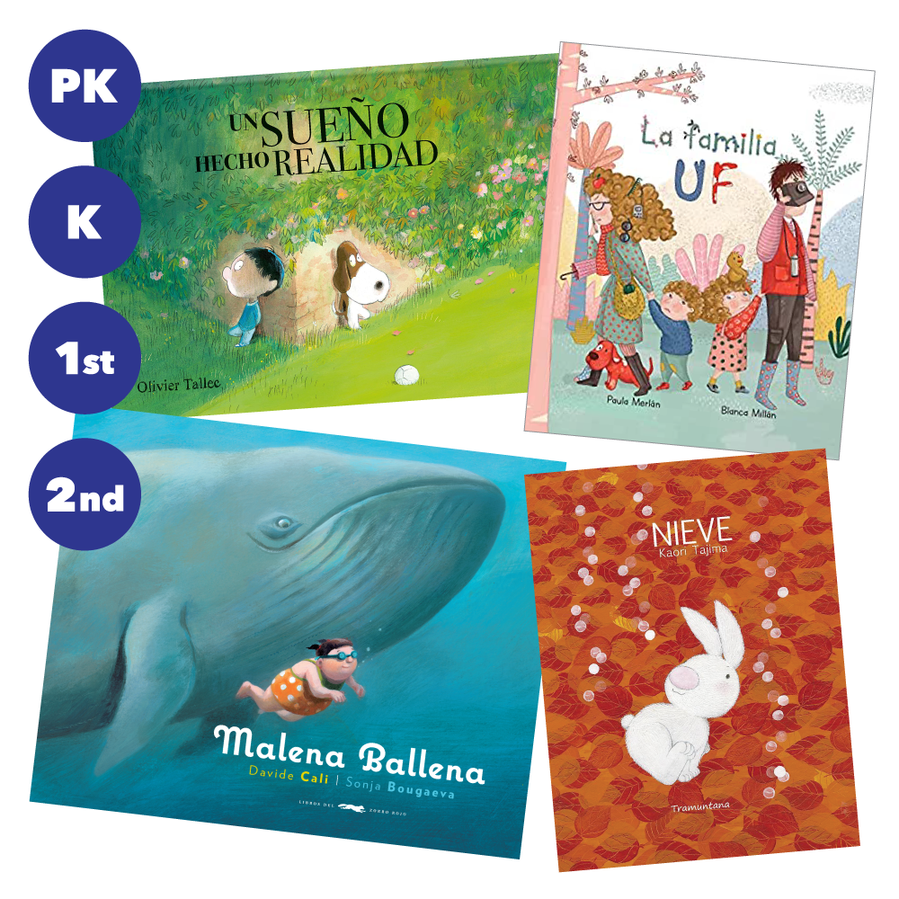 Primary Grades Spanish Read Aloud Set
