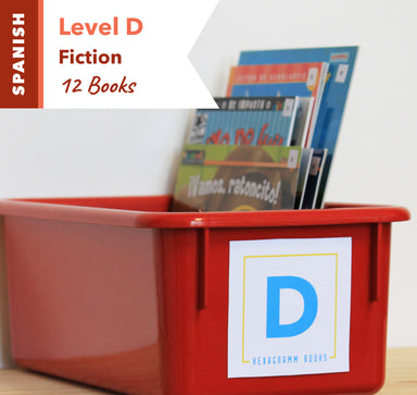 Level D, Bundle of 12 (Fiction) Spanish
