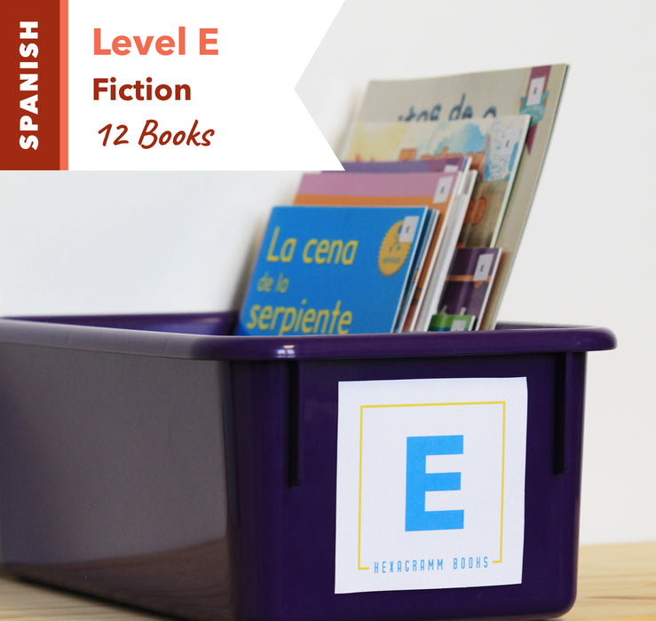 Level E, Bundle of 12 (Fiction) Spanish