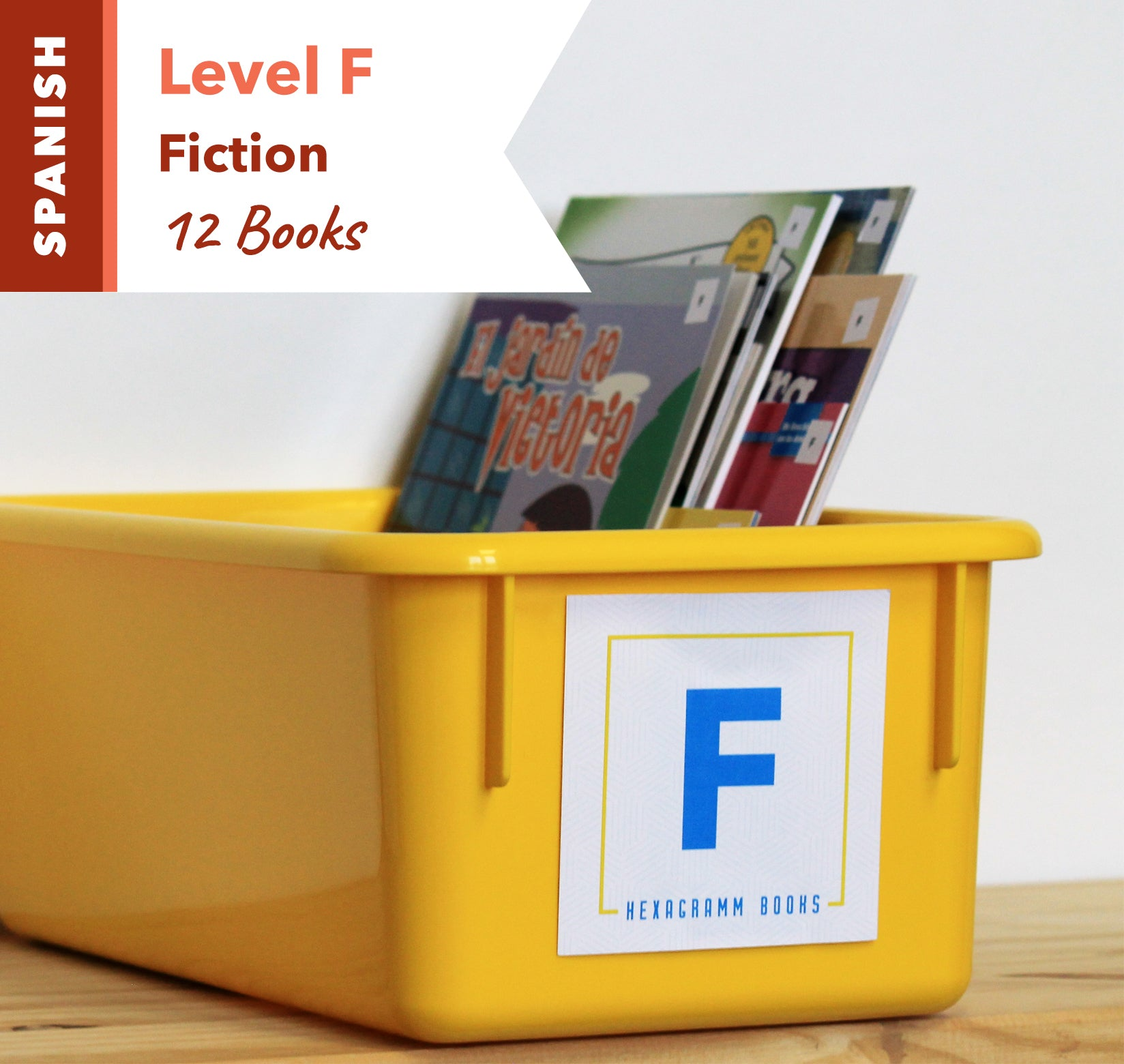 Level F, Bundle of 12 (Fiction) Spanish
