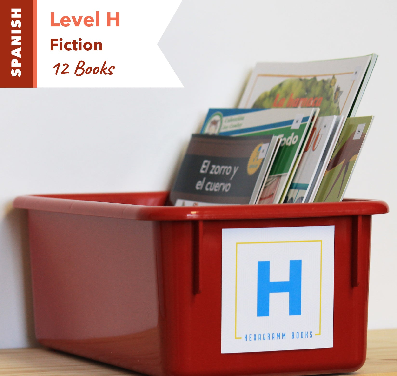 Level H, Bundle of 12 (Fiction) Spanish