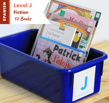 Level J, Bundle of 12 (Fiction) Spanish