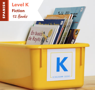 Level K, Bundle of 12 (Fiction) Spanish