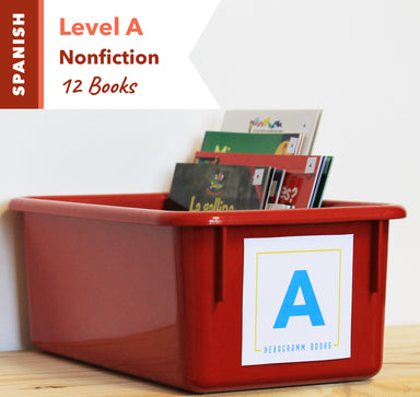 Level A, Bundle of 12 (Nonfiction) Spanish