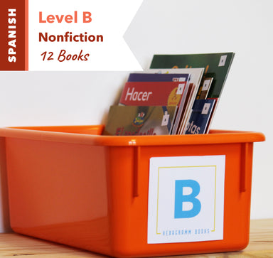 Level B, Bundle of 12 (Nonfiction) Spanish