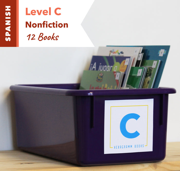 Level C, Bundle of 12 (Nonfiction) Spanish