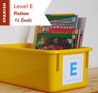 Level E, Bundle of 12 (Nonfiction) Spanish