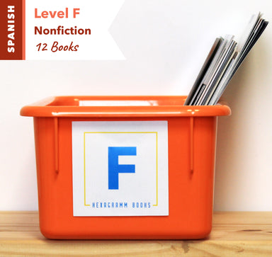 Level F, Bundle of 12 (Nonfiction) Spanish