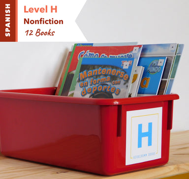 Level H, Bundle of 12 (Nonfiction) Spanish