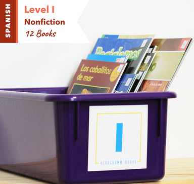 Level I, Bundle of 12 (Nonfiction) Spanish