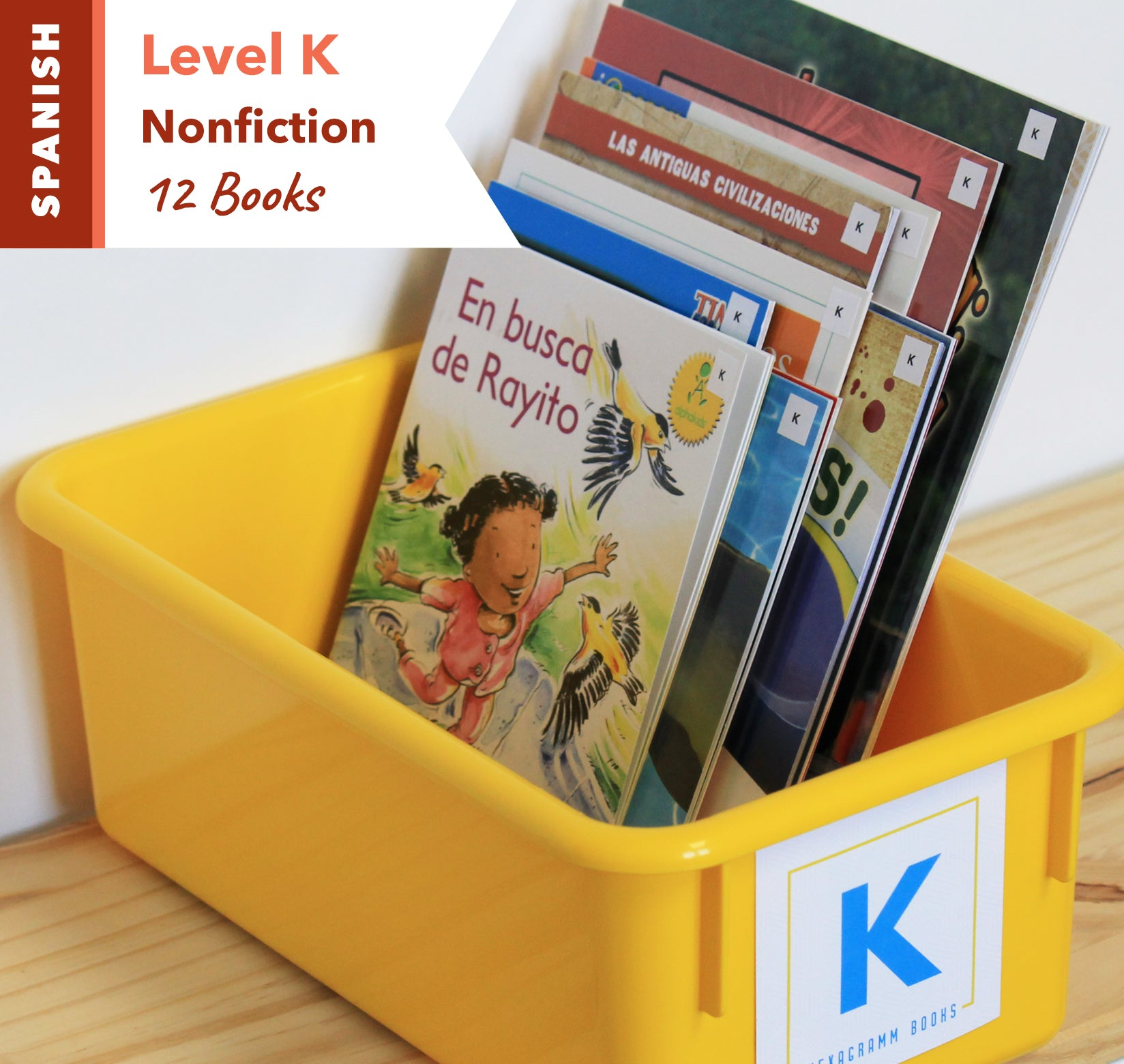 Level K, Bundle of 12 (Nonfiction) Spanish