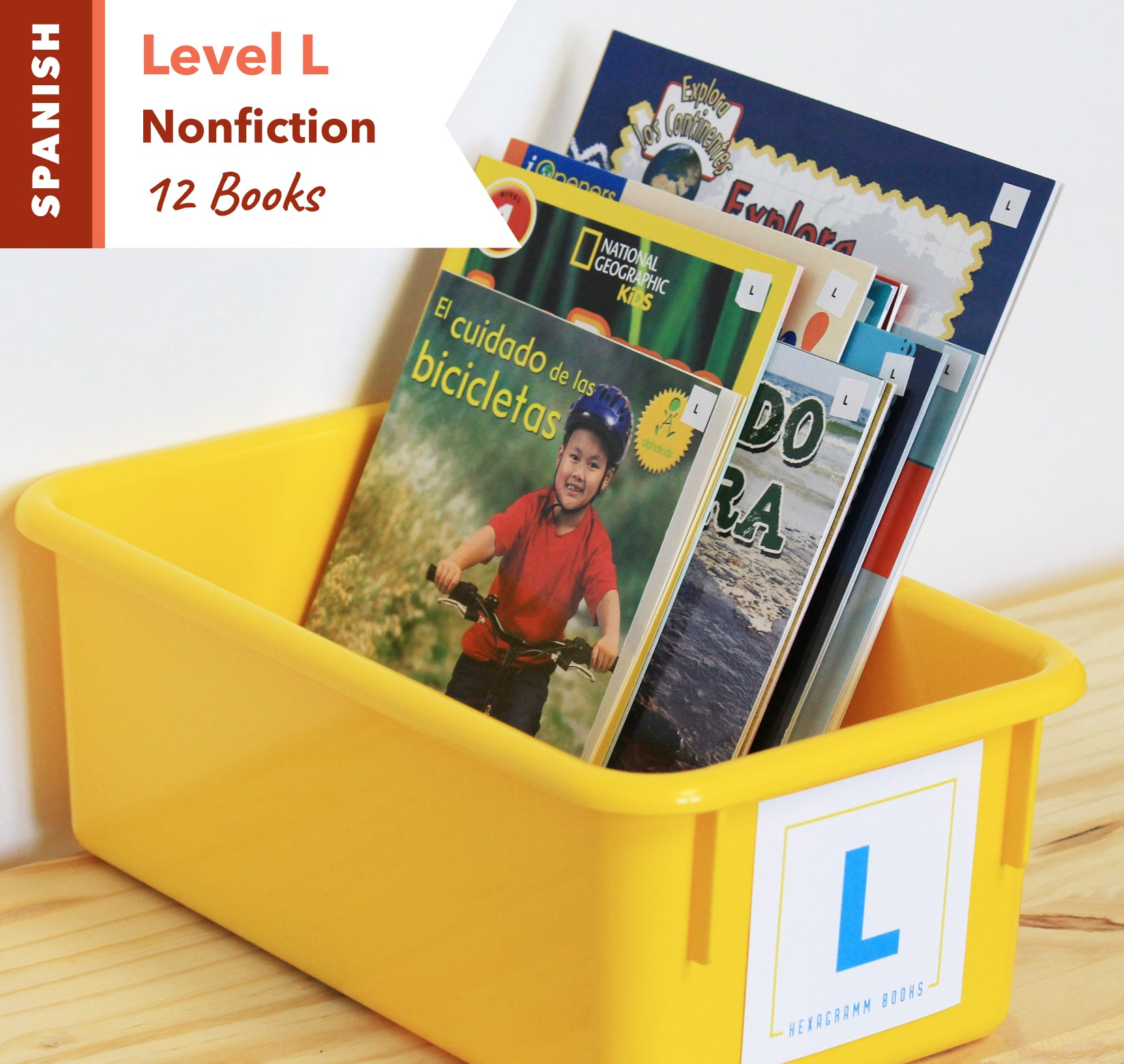 Level L, Bundle of 12 (Nonfiction) Spanish