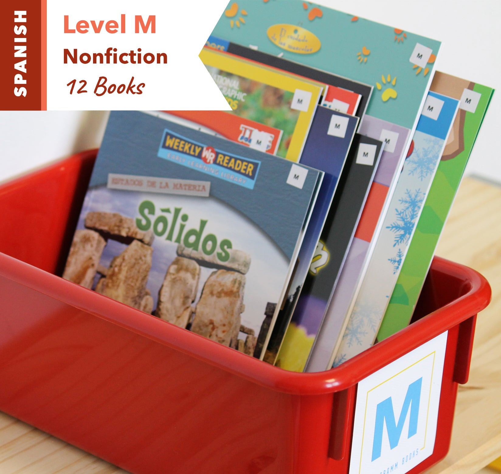 Level M, Bundle of 12 (Nonfiction) Spanish
