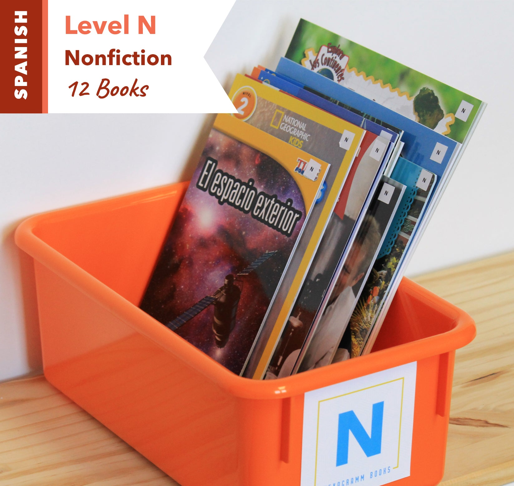 Level N, Bundle of 12 (Nonfiction) Spanish