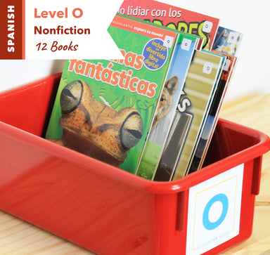 Level O, Bundle of 12 (Nonfiction) Spanish