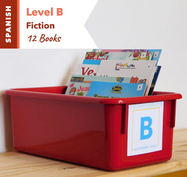 Level B, Bundle of 12 (Fiction) Spanish