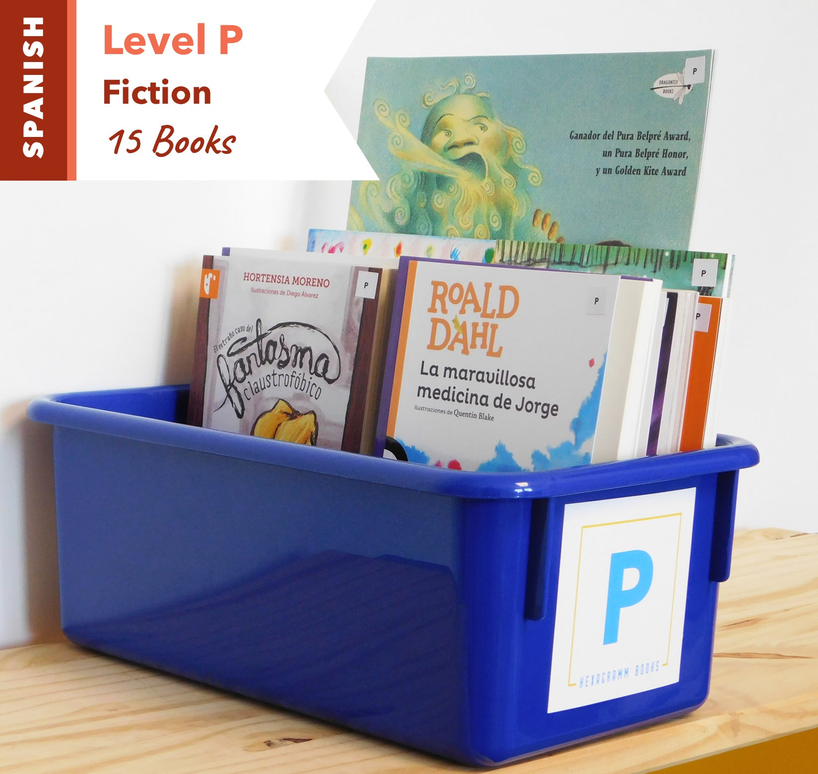 Level P, Bundle of 15 (Fiction) Spanish