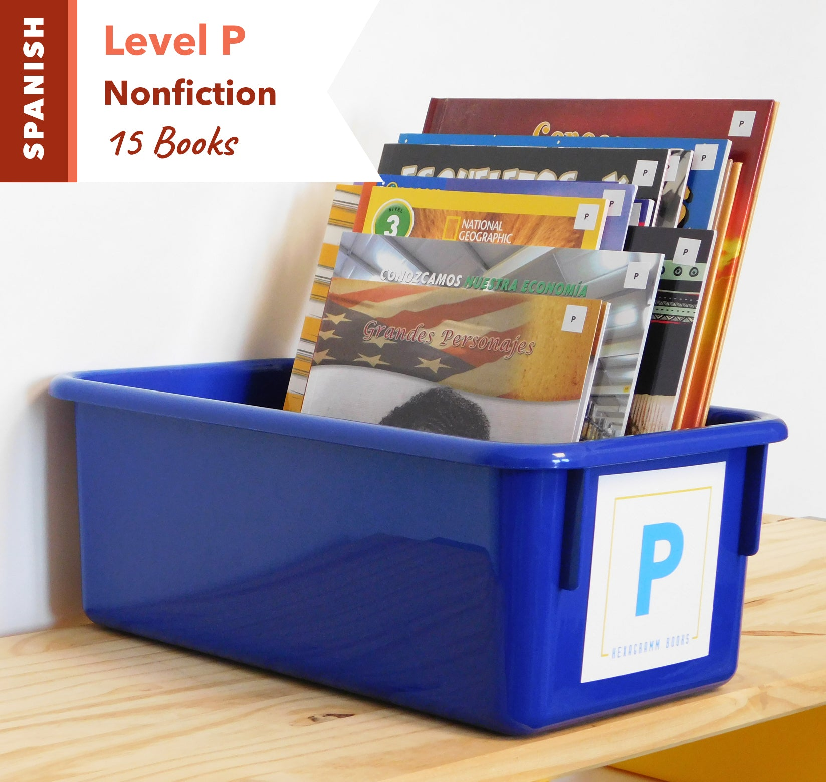 Level P, Bundle of 15 (Nonfiction) Spanish