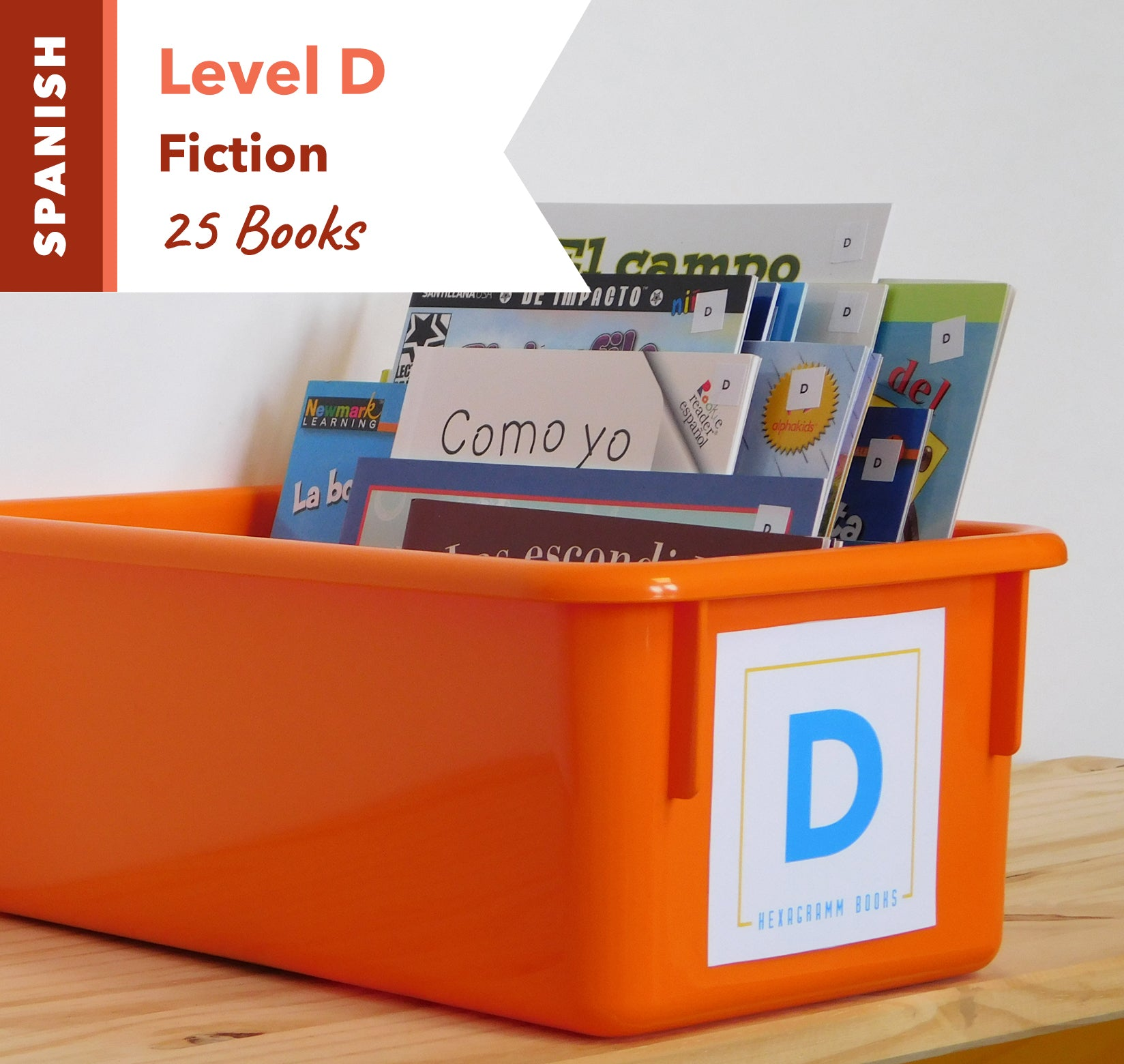 Level D, Bundle of 25 (Fiction) Spanish