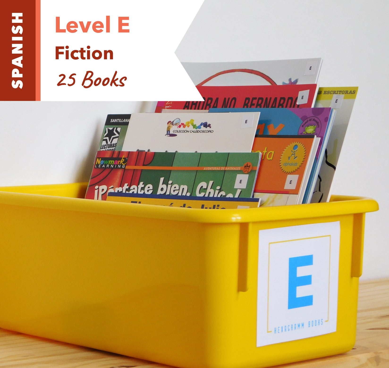 Level E, Bundle of 25 (Fiction) Spanish