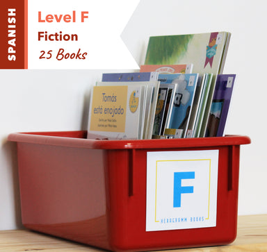 Level F, Bundle of 25 (Fiction) Spanish