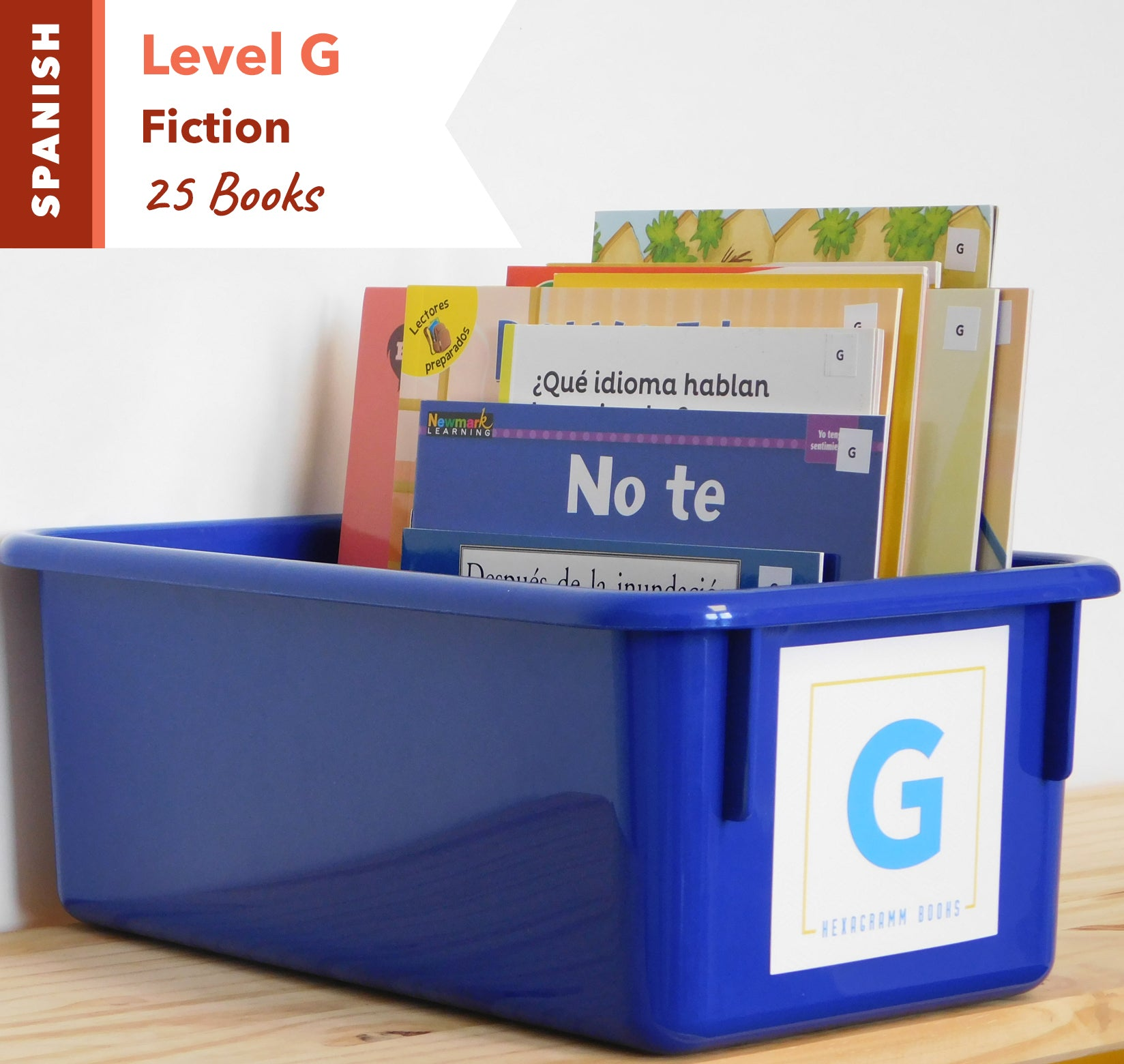 Level G, Bundle of 25 (Fiction) Spanish