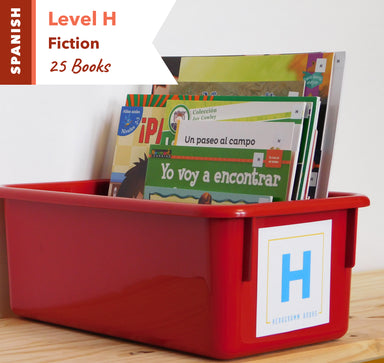 Level H, Bundle of 25 (Fiction) Spanish