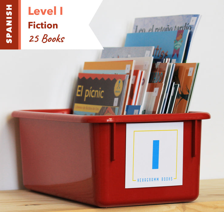 Level I, Bundle of 25 (Fiction) Spanish