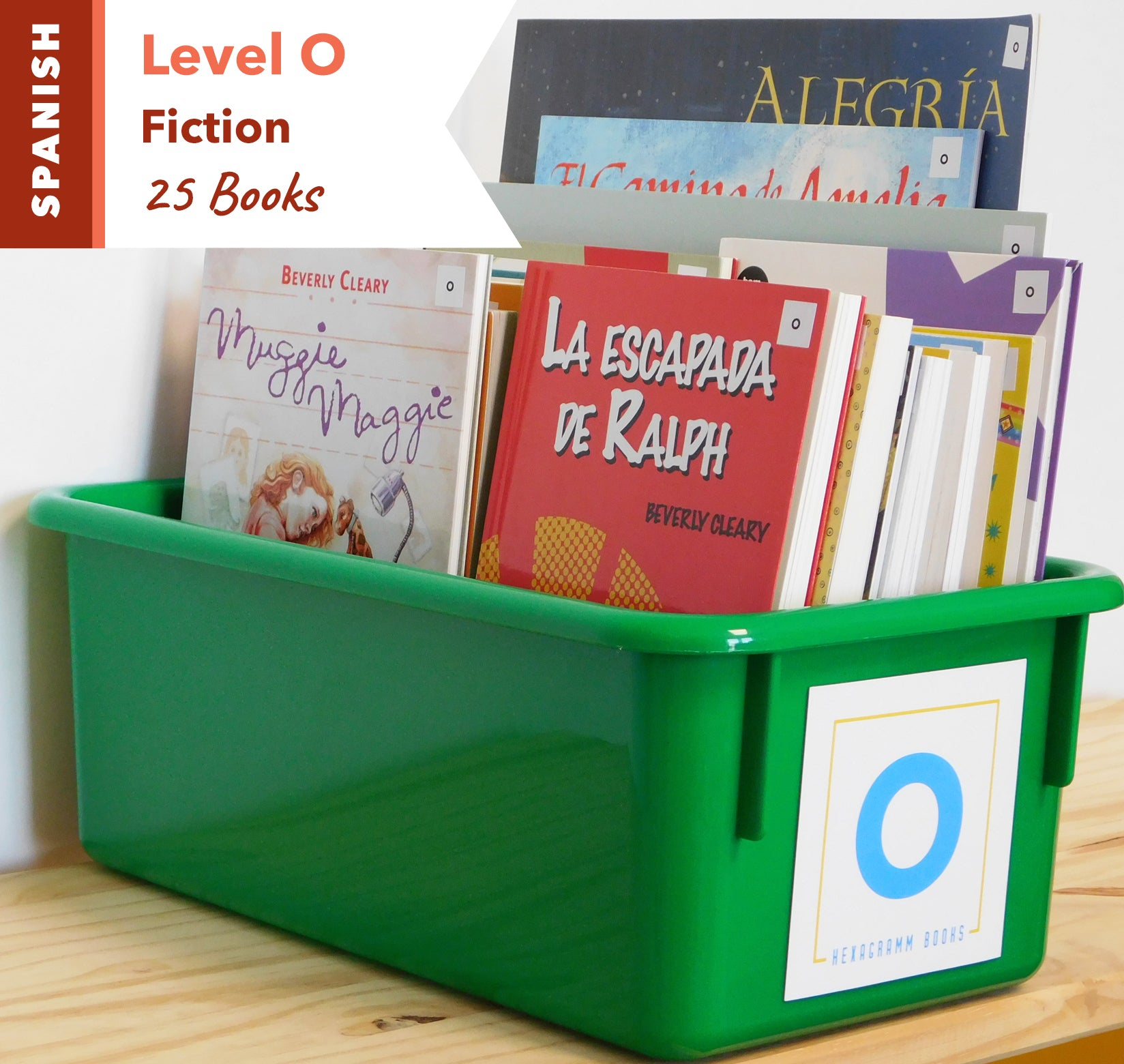 Level O, Bundle of 25 (Fiction) Spanish