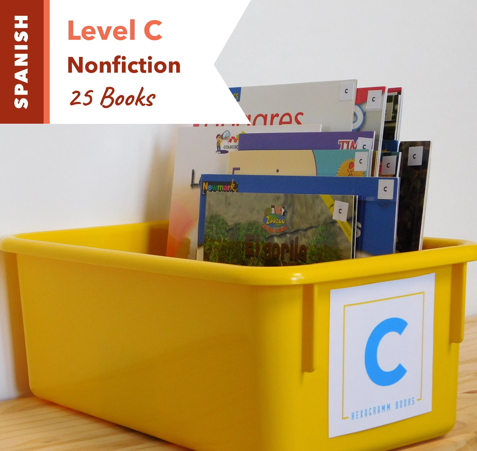 Level C, Bundle of 25 (Nonfiction) Spanish
