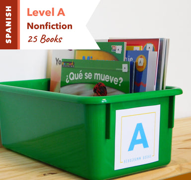 Level A, Bundle of 25 (Nonfiction) Spanish