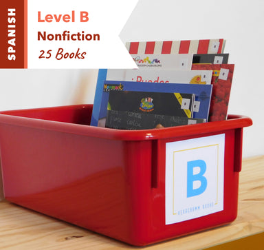 Level B, Bundle of 25 (Nonfiction) Spanish