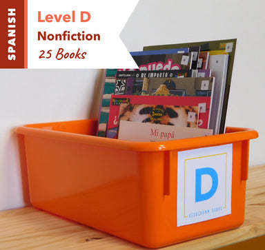 Level D, Bundle of 25 (Nonfiction) Spanish
