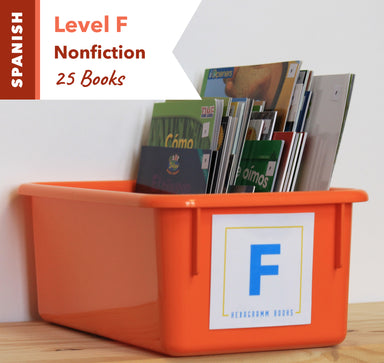 Level F, Bundle of 25 (Nonfiction) Spanish