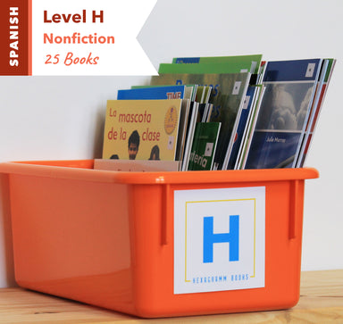 Level H, Bundle of 25 (Nonfiction) Spanish