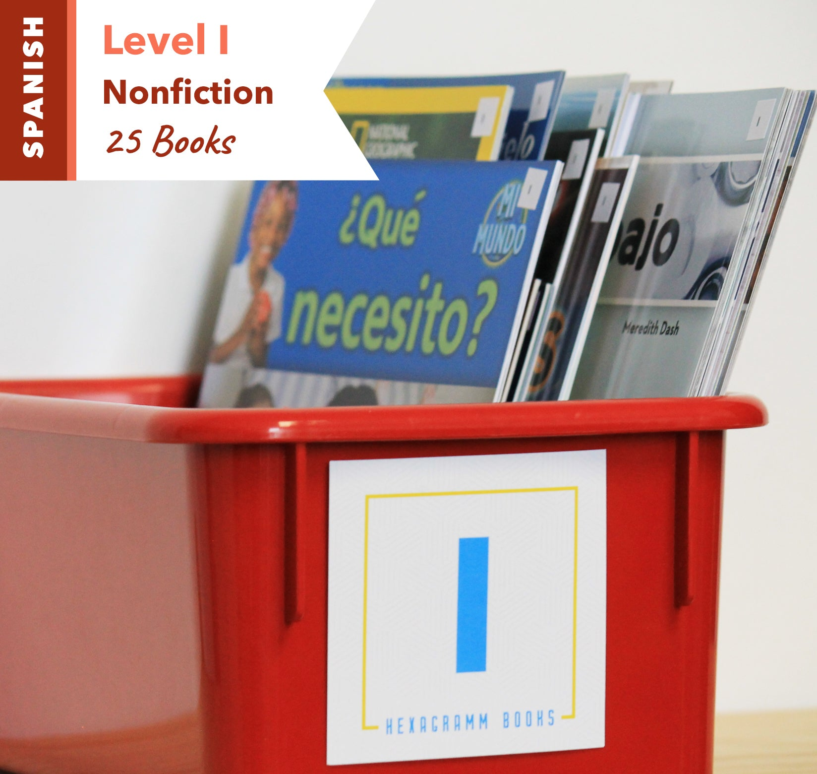 Level I, Bundle of 25 (Nonfiction) Spanish