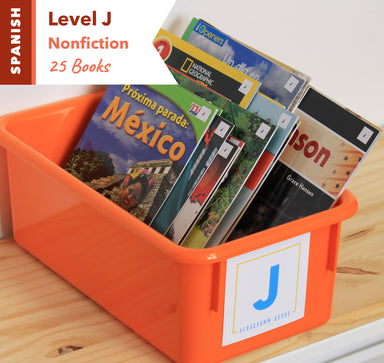 Level J, Bundle of 25 (Nonfiction) Spanish