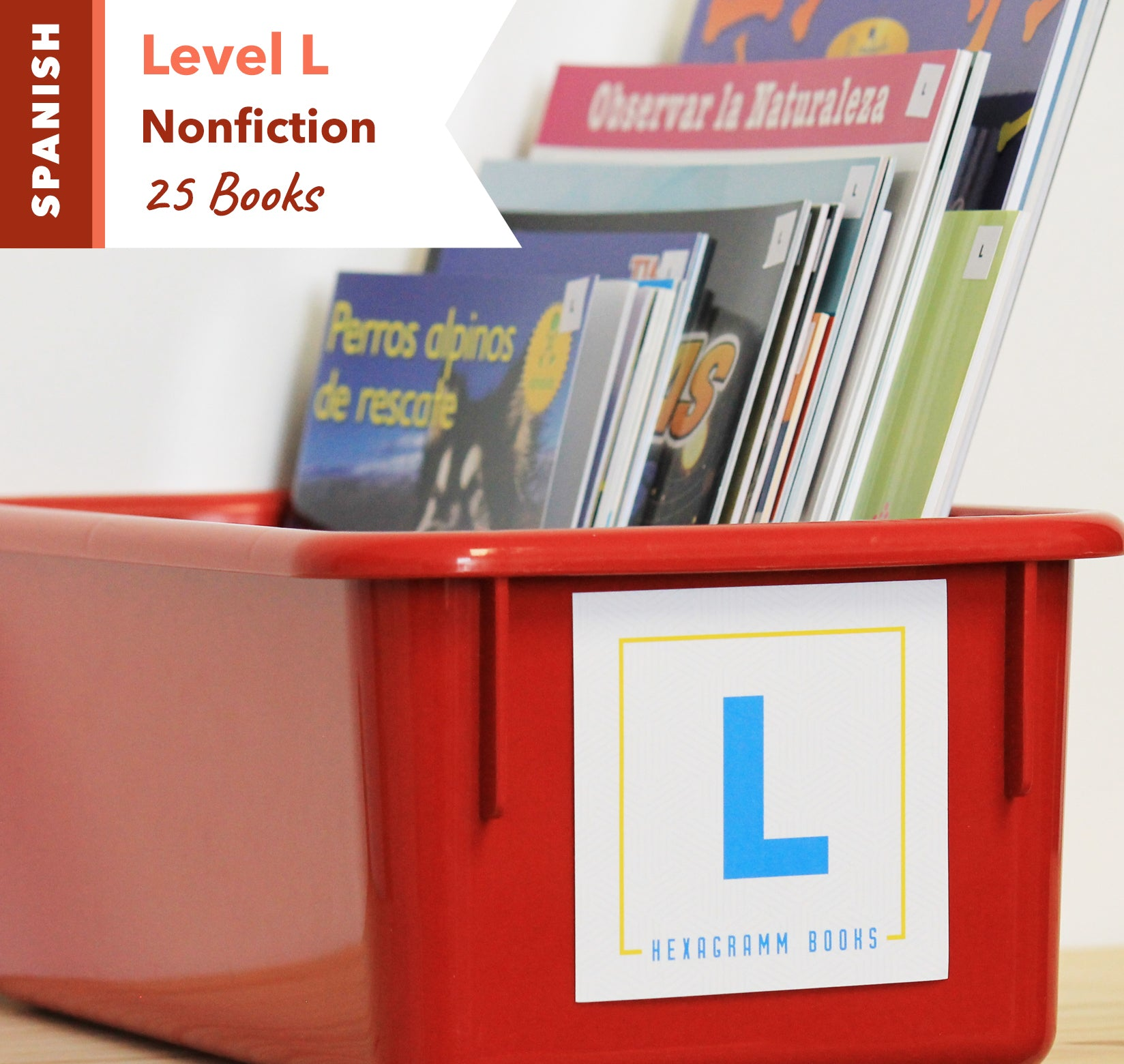 Level L, Bundle of 25 (Nonfiction) Spanish