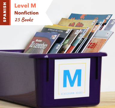 Level M, Bundle of 25 (Nonfiction) Spanish