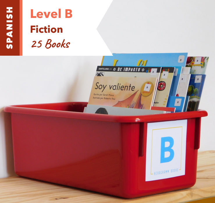 Level B, Bundle of 25 (Fiction) Spanish