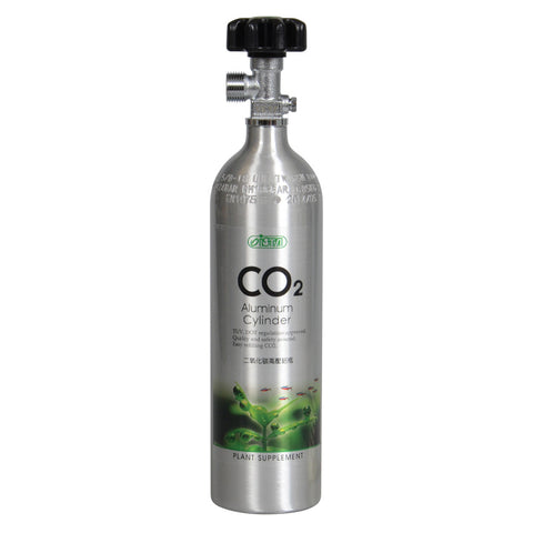 CO2 Aluminum Cylinder - 1L - Face Side